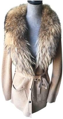 Gerard Darel Camel Cashmere Knitwear for Women