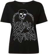 R 13 Eyes printed T-shirt - women - Cotton/Cashmere - S