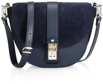 Proenza Schouler Medium PS11 Leather & Suede Saddle Bag