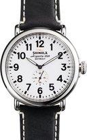 Shinola 47mm Runwell Men's Watch, White/Black