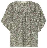 Vanessa Bruno Printed silk blouse