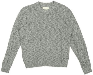 Folk Emboss Slub Crew Jumper Salt And Pepper - 1 / XS / 28