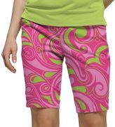 Women's Loudmouth Golf Cotton Candy Bermuda Shorts