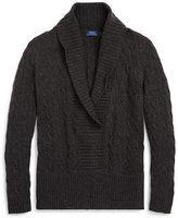 Polo Ralph Lauren Shawl-Collar Cashmere Sweater
