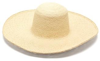 Greenpacha La Jolia Straw Wide-brim Hat - Womens - Beige
