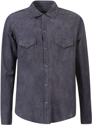 Tagliatore Front Buttoned Pocket Shirt