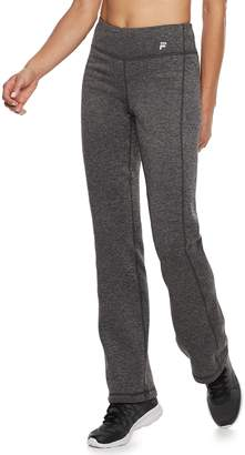 Fila Sport Women's SPORT Fleece Straight-Leg Mid-Rise Sweatpants