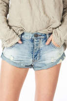 One Teaspoon Distressed Bandit Shorts
