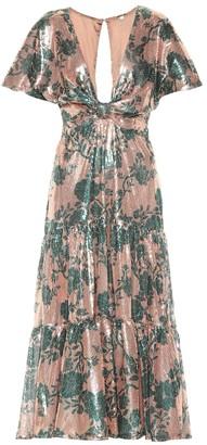 Johanna Ortiz Modern Day Muse sequined dress