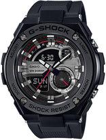G-Shock Men's Analog-Digital Black Strap Watch 59x52mm GST210B-1A