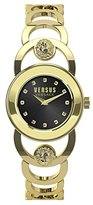 Versus By Versace Women's 'Carnaby Street' Quartz Stainless Steel Casual Watch, Color:Gold-Toned (Model: SCG090016)