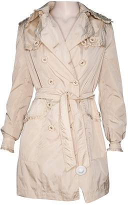 Blumarine Beige Trench Coat for Women