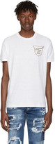 DSQUARED2 White 'Caten Twins' Patch T-Shirt