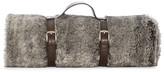 Hudson Park Faux Fur Travel Throw - 100% Exclusive