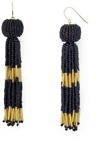 Vanessa Mooney Damzel Beaded Tassel Drop Earrings