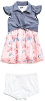 GUESS Sleeveless Two-Fer Dress (0-24M)