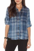 Bella Dahl Split Back Plaid