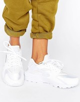 Nike Huarache Run Sneakers In White