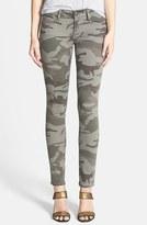 True Religion Women's Brand Jeans Casey Print Super Skinny Jeans