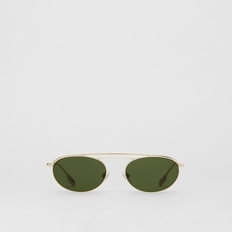 Burberry Oval Frame Sunglasses