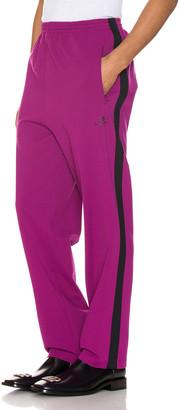 Balenciaga Tracksuit Pants in Grape & Black | FWRD