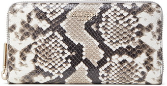 Kate Spade Spencer Python Embossed Leather Wallet