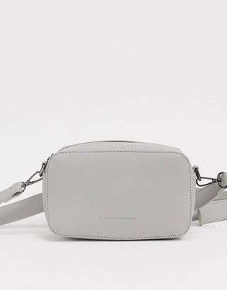 Claudia Canova cross body camera bag in gray