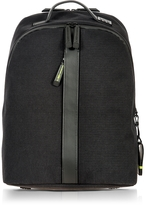 Bric's Black Nylon and Leather Classic Backpack