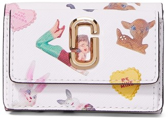 Marc Jacobs mini The Snapshot Sugar trifold wallet