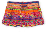 Ralph Lauren Girls 2-6x Elasticized Waist Track Shorts