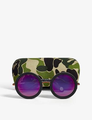 Bape BS13027 round-frame sunglasses