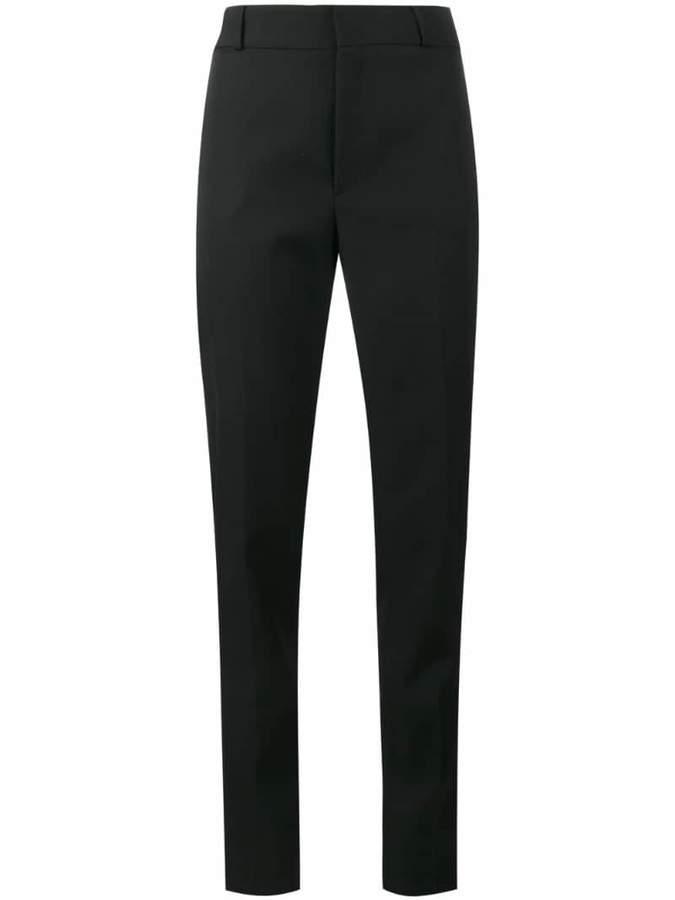 Saint Laurent satin stripe suit trousers