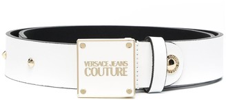 Versace Jeans Couture Studded Leather Belt