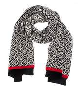 Dents Womens Nordic Knit Scarf