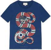 Gucci Washed t-shirt with Woodstock print