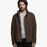 James Perse Stretch Jersey Utility Jacket