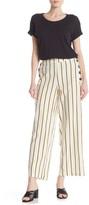 ECI Striped Linen Blend Pants