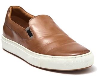 HUGO BOSS Mirage Leather Slip-On Sneaker