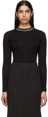Rag & Bone Black Merino Wool Pamela Sweater