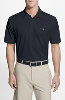Cutter & Buck Men's 'New England Patriots - Genre' Drytec Moisture Wicking Polo