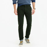 J.Crew Brushed cotton twill pant in 484 fit