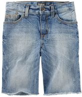 Osh Kosh Boys 4-12 Sun-Faded Medium Wash Denim Shorts