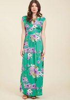 Feeling Serene Maxi Dress in Spearmint in L