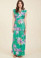ModCloth Feeling Serene Maxi Dress in Spearmint in S