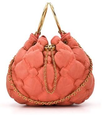 Chanel Pre Owned 2017 Padded Quilt Shoulder Bag