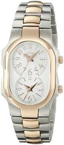 Philip Stein Teslar Women's 1TRG-FMOP-SS3TRG Signature Two-Tone Stainless Steel Watch