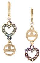 Betsey Johnson Harlem Shuffle Emoji Earrings
