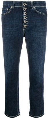 Dondup Cropped Slim-Fit Jeans