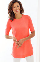 J. Jill Pima Shirttail Tunic