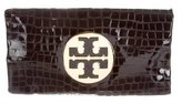 Tory Burch Embossed Leather Reva Clutch